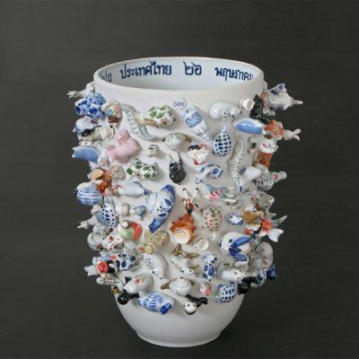 Souvenir Zoo, Vase