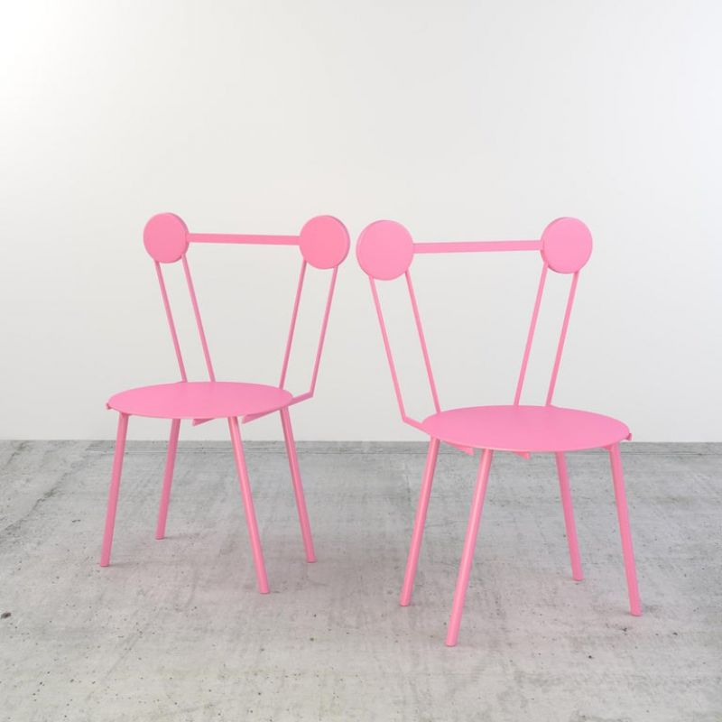 Haly Chair Rose