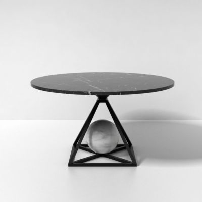 Marble Contrepoids Dining Table