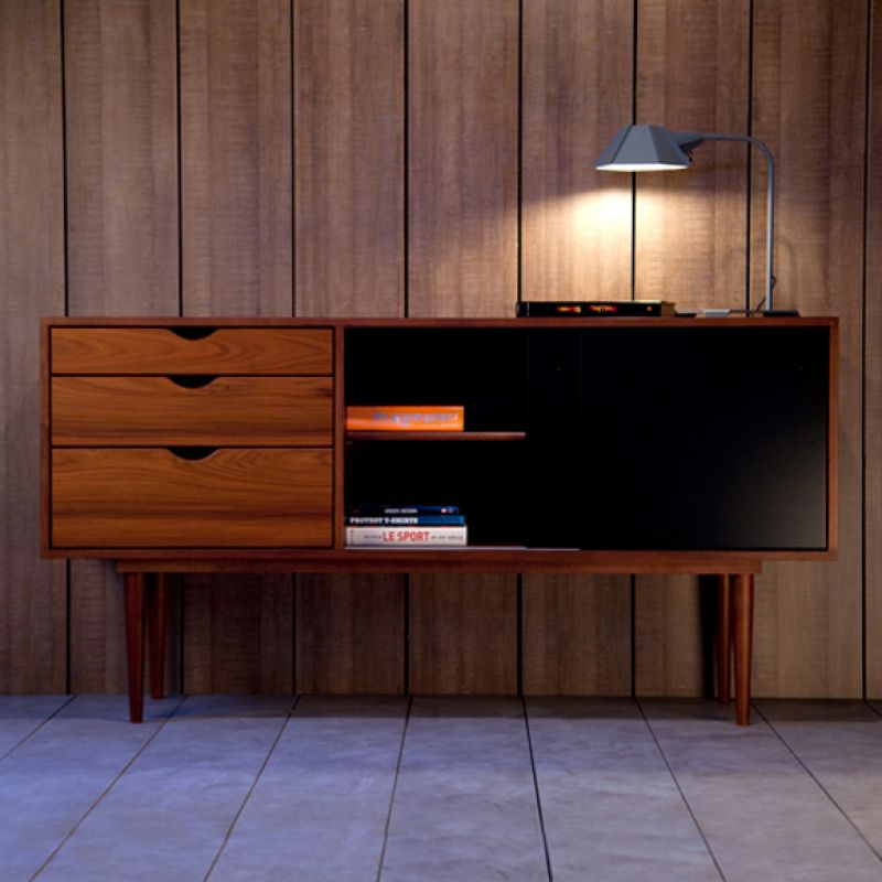 FIDAR black sideboard