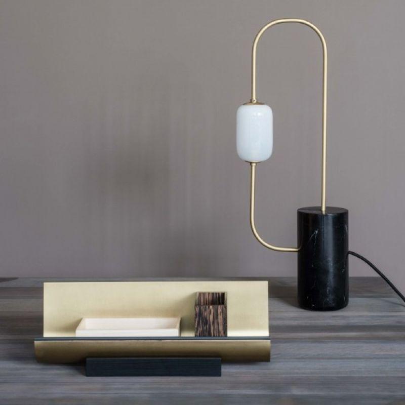 segment table lamp