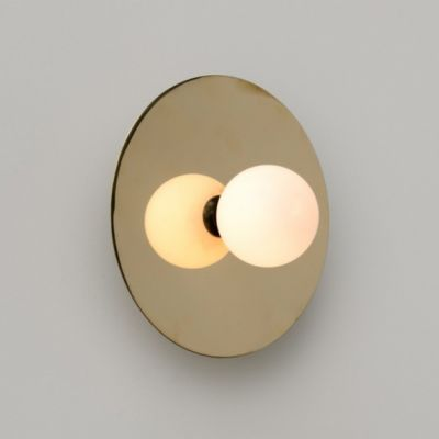 Disc and Sphere Wall Light