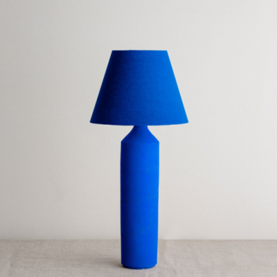 True Blue Lamp