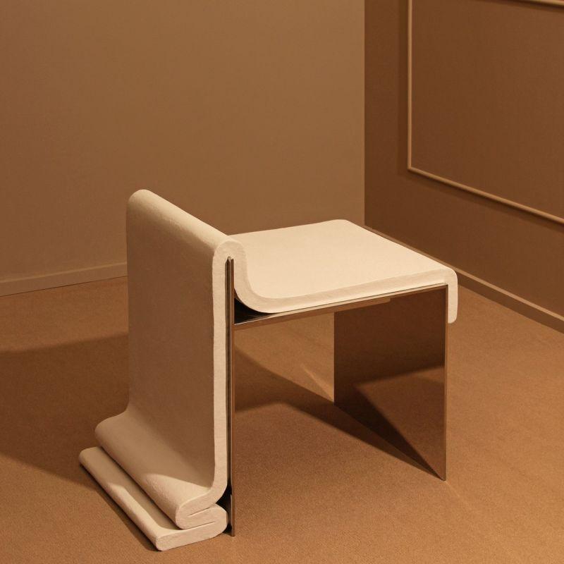 Concrete Melt Chair