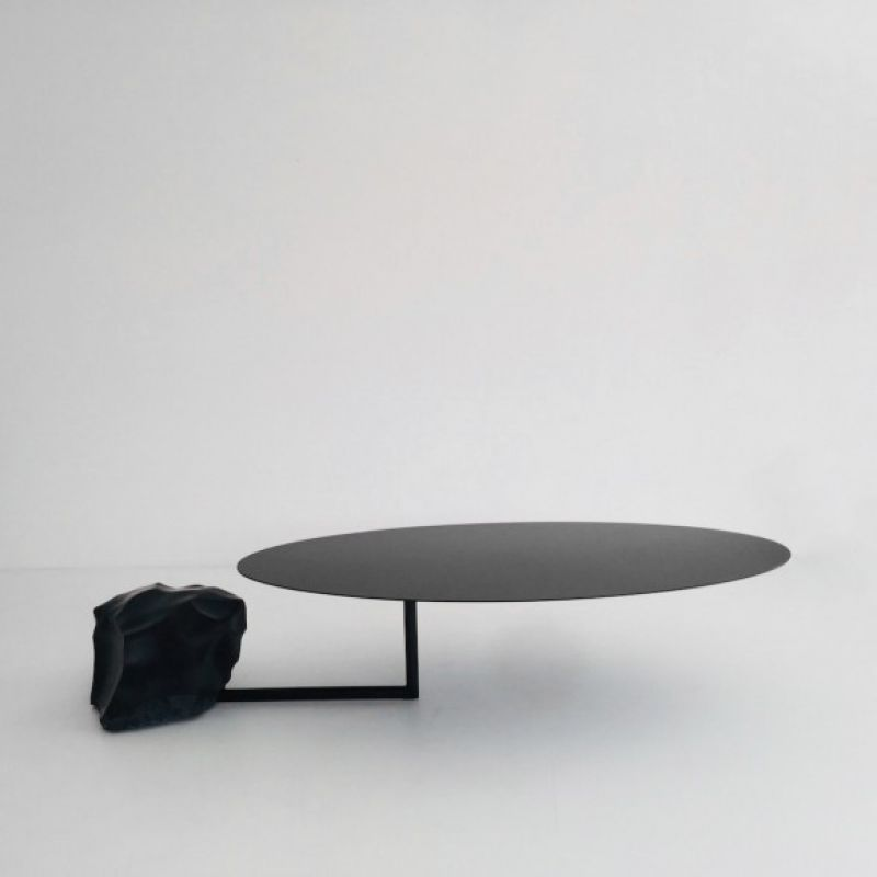 110 kg black granit