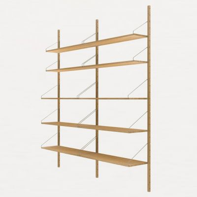 Shelf library Natural H1852