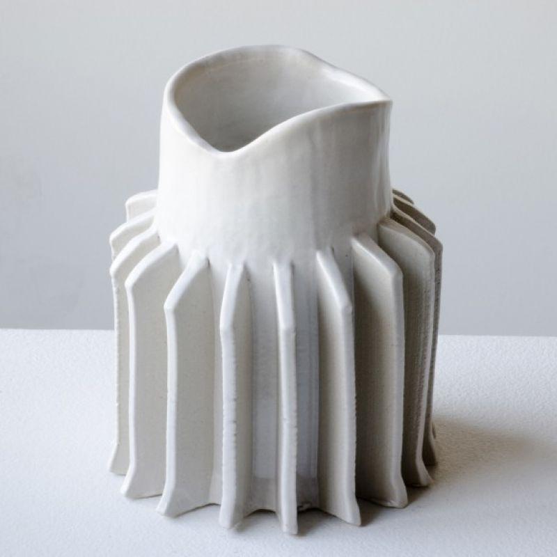 Pressed Ceramic Vases
