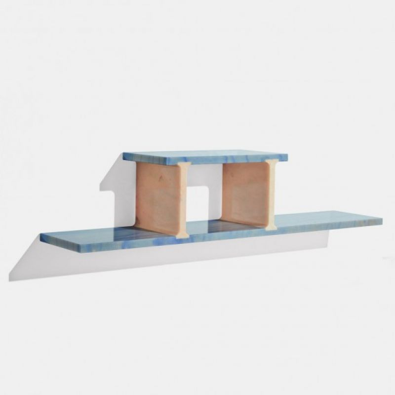 RABBET MARBLE BOOKCASE