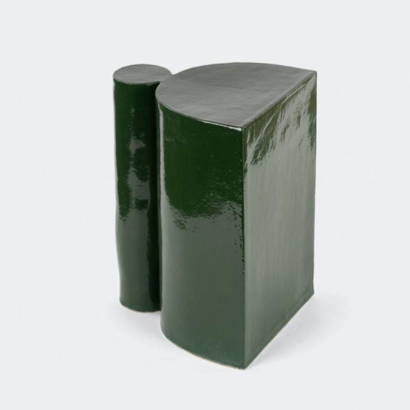 ONE COLUMN SIDE TABLE