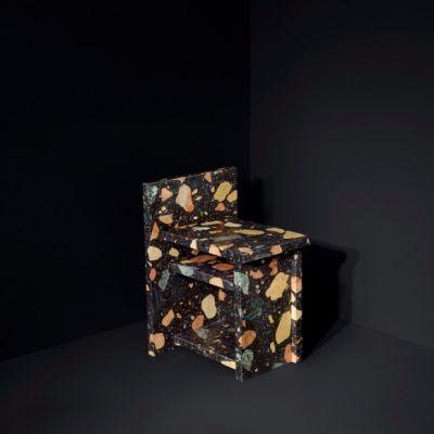 Marmoreal Storage Stool