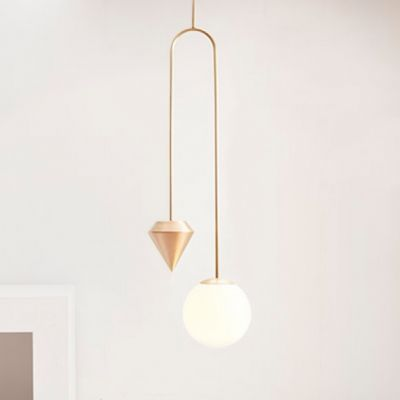 LONG PLUMB PENDANT LIGHT